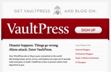 Post image for NEW WP TOOL: WordPress Secure Backup by VaultPress